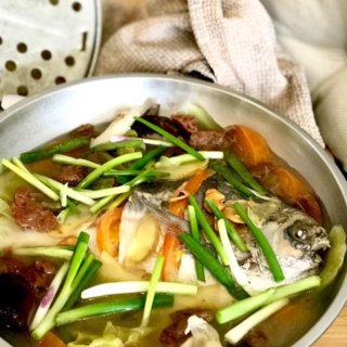 Teochew Steamed Chinese Pomfret (Dao Chior) Recipe