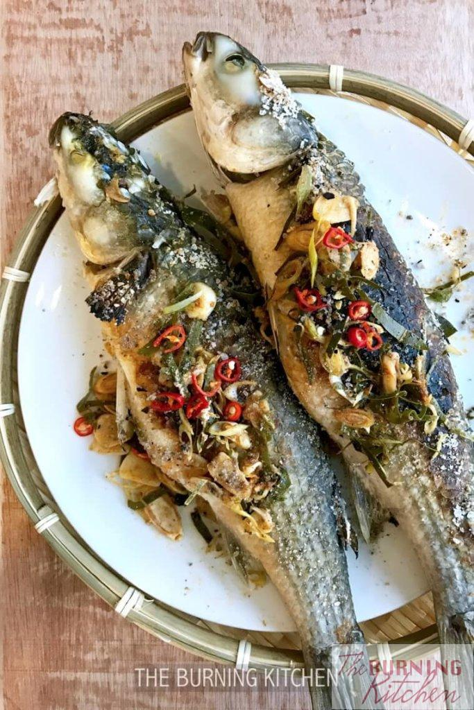 The Burning Kitchen | Thai Smoked Lemongrass Mullet