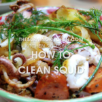 The Burning Kitchen | How to Clean Squid