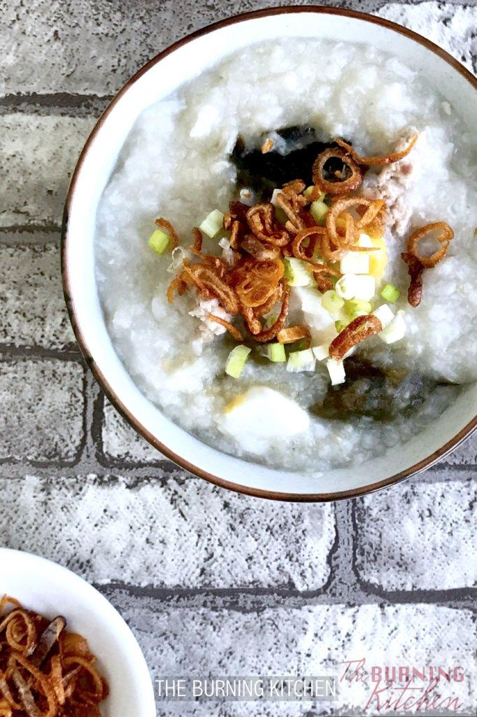 Salted Egg, Century Egg and Pork Congee