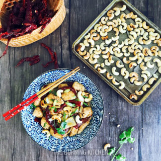 Kung Pao Chicken with Toasted Cashews