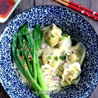 Step-by-Step Wonton Noodles