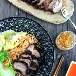 Grilled Char Siew (Sticky Chinese Roast Pork)