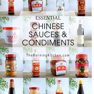 Essential Chinese Sauces and Condiments in The Burning Kitchen's Pantry