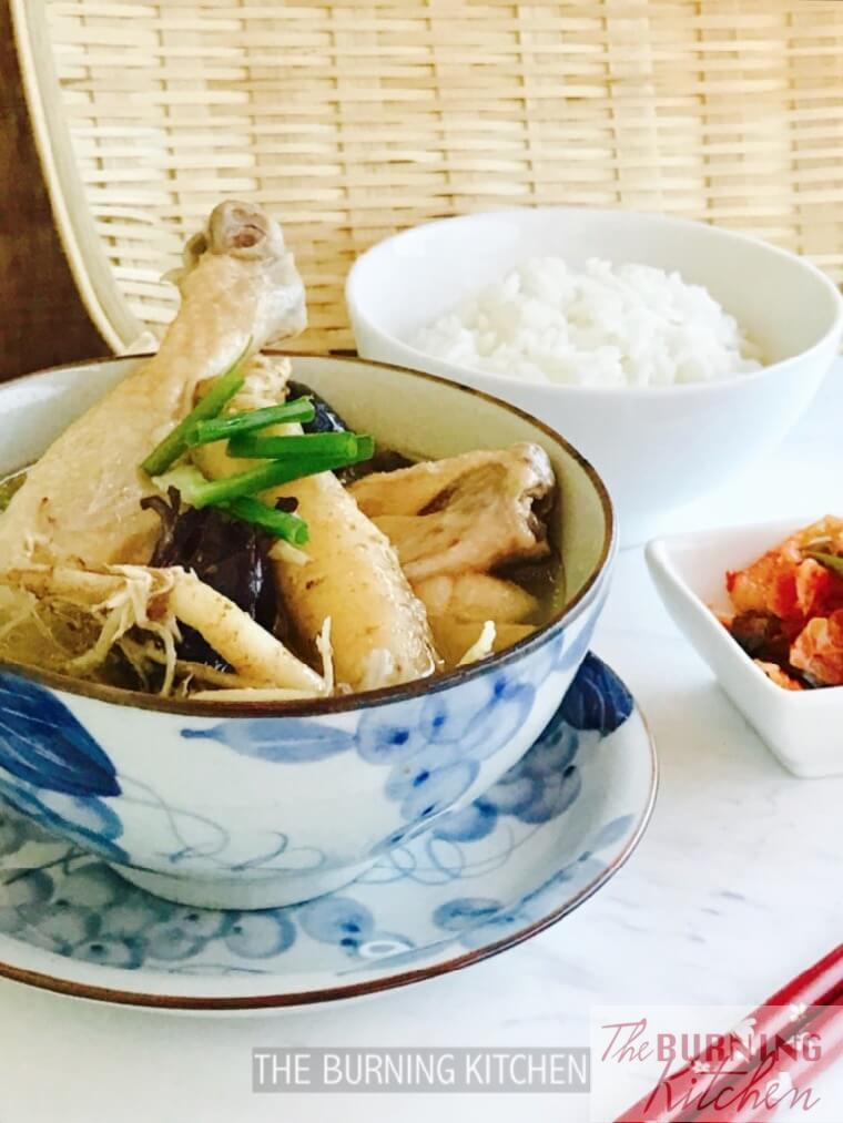 Korean Ginseng Chicken (Sangyetang) Recipe