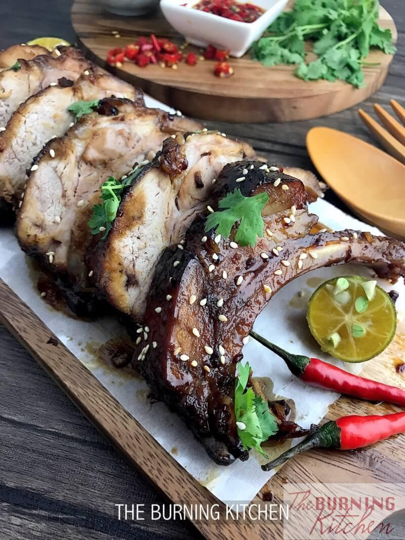 Sticky Chinese Honey Pork Ribs