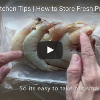 How to Pack and Freeze Prawns