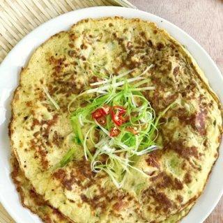 Loofah Prawn Omelette