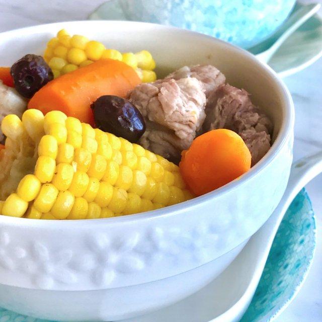 Sweet Corn Pork Rib Soup Recipe