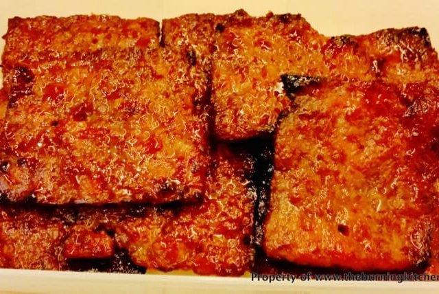 Home-made Barbecued Pork (Bak Kwa) Recipe