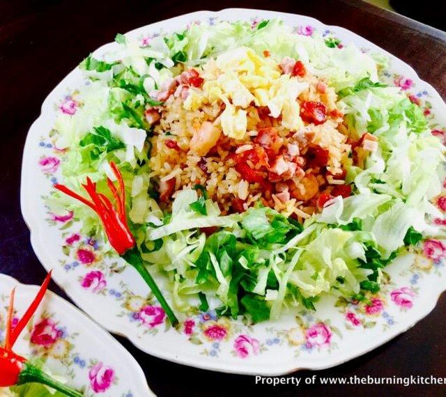 Yang Zhou Fried Rice (扬州炒饭)