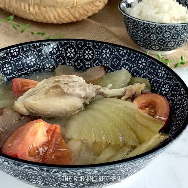 Salted Vegetable Duck Soup (咸菜鸭汤 Kiam Chye Ark)