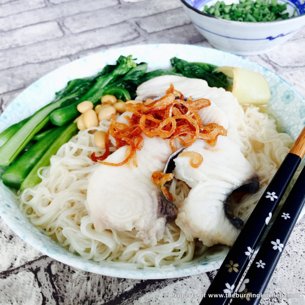 The Burning Kitchen | Fish Slice Mee Sua (Longevity Noodles)