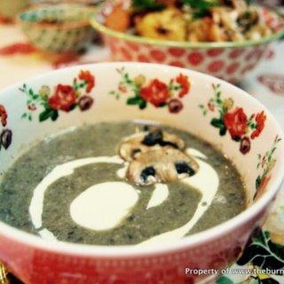 Home-Style Creamy Mushroom Soup