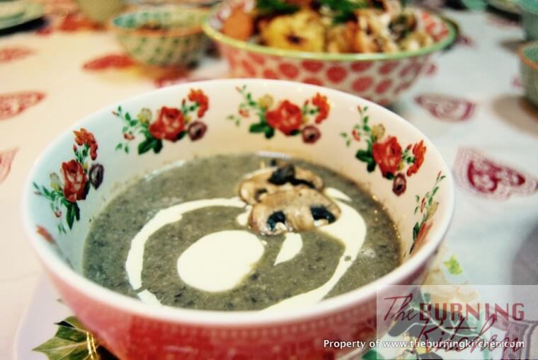 The Best Creamy Mushroom Soup Recipe