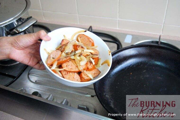 Warm Squid and Potato Salad