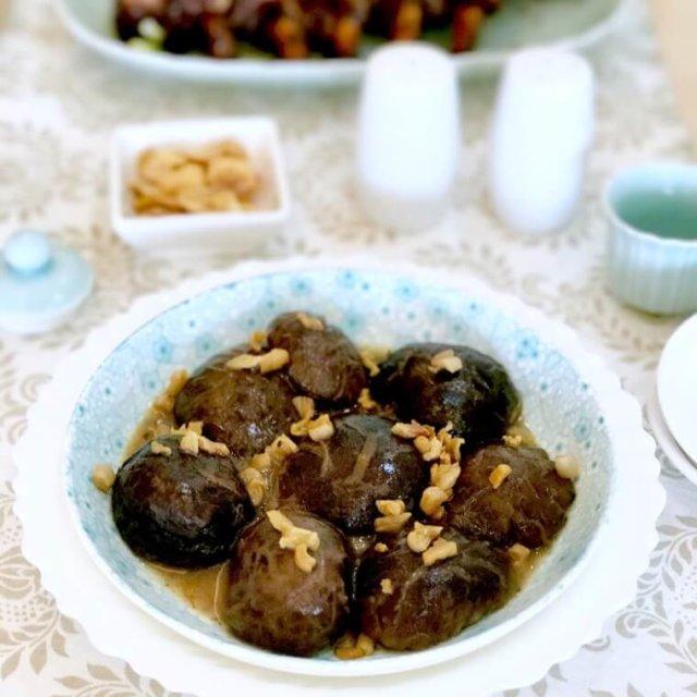 Chinese Braised Shiitake Mushrooms (Men Dong Gu)