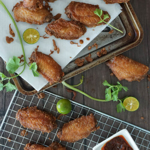 Juicy Deep-Fried Shrimp Paste Chicken (Har Cheong Gai): Shrimp Paste Chicken, more popularly known by its Cantonese name 'Har Cheong Gai', is one of Singapore's most beloved homegrown dishes that you can find at any Cze Char stall islandwide.