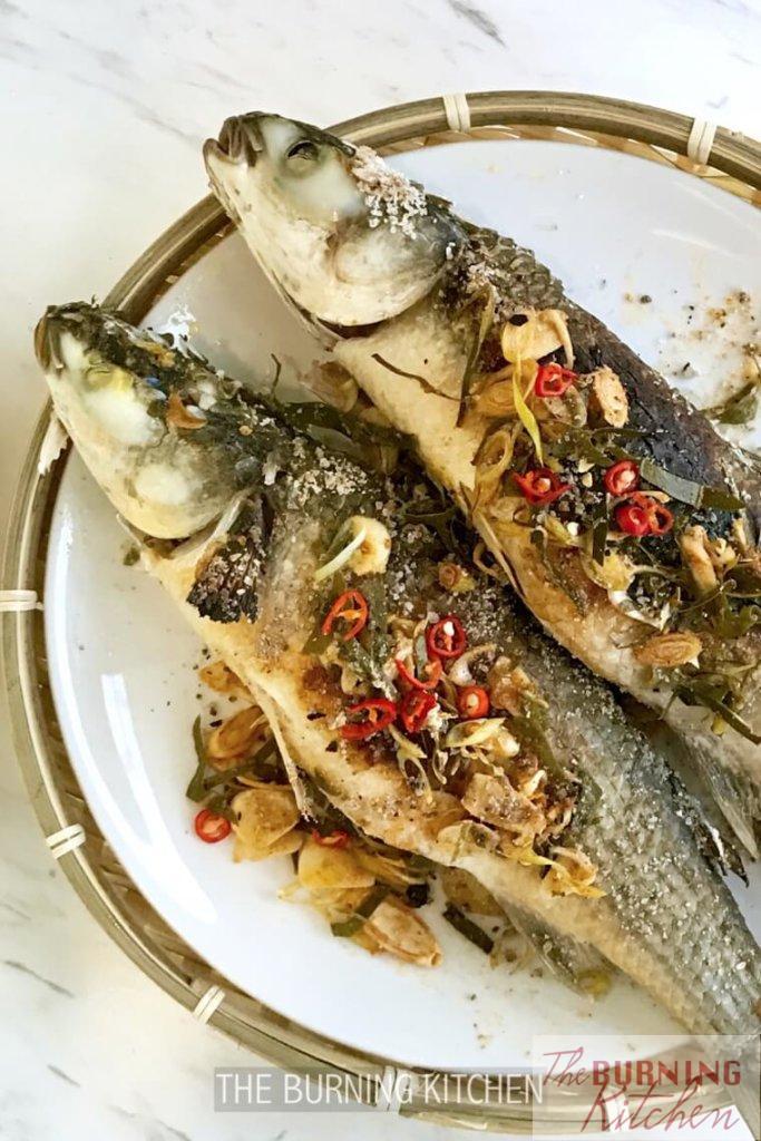 The Burning Kitchen | Thai Smoked Lemongrass Mullet