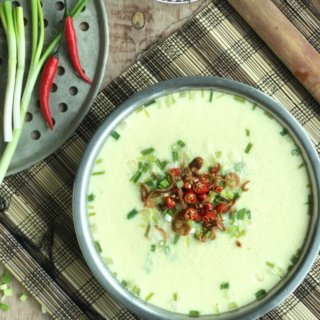 Silken Smooth Chinese Steamed Egg with Minced Meat Recipe