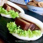 Braised Pork Buns (Kung Bak Pao)