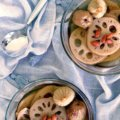 The Burning Kitchen   Lotus Root Sweet Soup with Figs