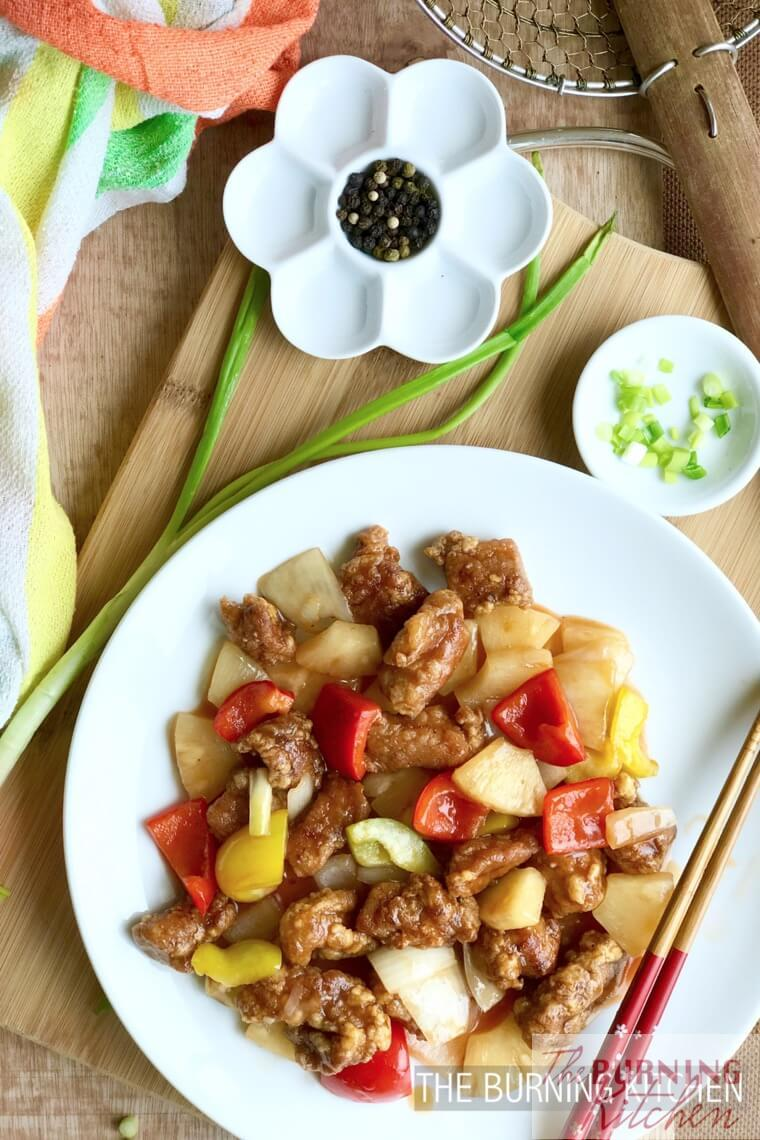 The Burning Kitchen   Sweet and Sour Pork (Ku Lu
