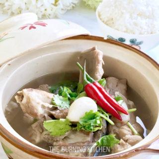 Bak Kut Teh Recipe with Homemade Spice Mix