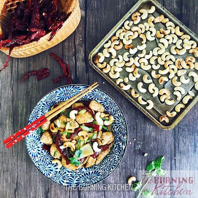 Kung Pao Chicken with Toasted Cashews This Szechuan classic ishellip