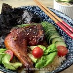 30-minute Teriyaki Chicken Don: Instead of heading to a Japanese restaurant, why not make this easy Teriyaki chicken rice bowl at home? The homemade Teriyaki sauce uses just 3 ingredients and gives a beautiful glossy caramelised finish to the chicken thighs. Serve with a bowl of Japanese rice for a complete meal!