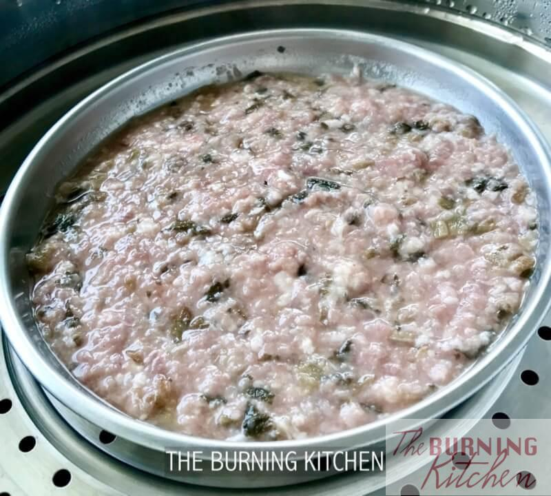 Steamed Minced Pork (Dong Cai / Mei Cai / Water Chestnut / Salted Fish): Learn to cook this well-loved traditional home-cooked dish in 4 different styles, with just one easy recipe!Make this your 'go-to' recipe to satisfy the different tastebuds in your family!