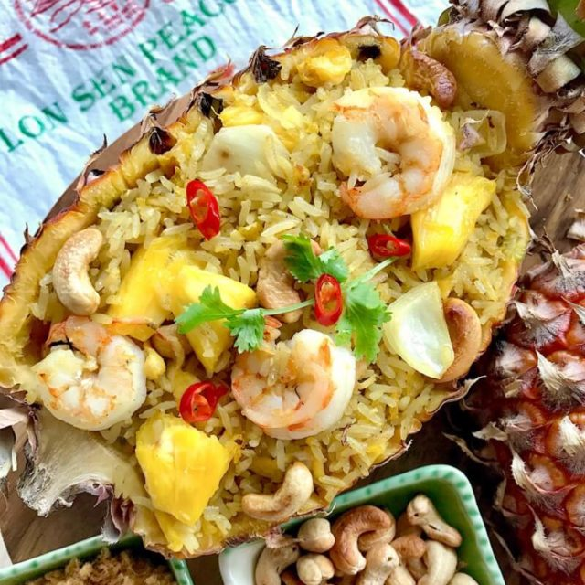 Thai Pineapple Fried Rice (Khao Phad Saparod)