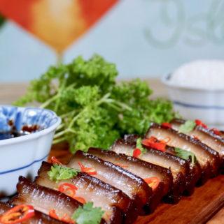 Assam Braised Pork Belly