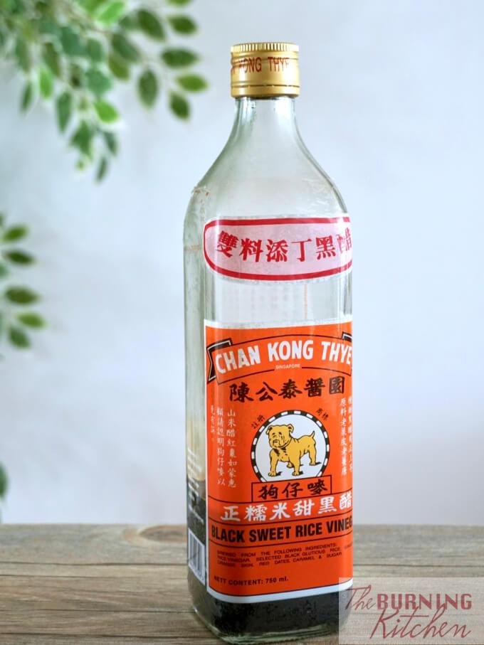 Chang Kong Thye, Black Sweet Rice Vinegar