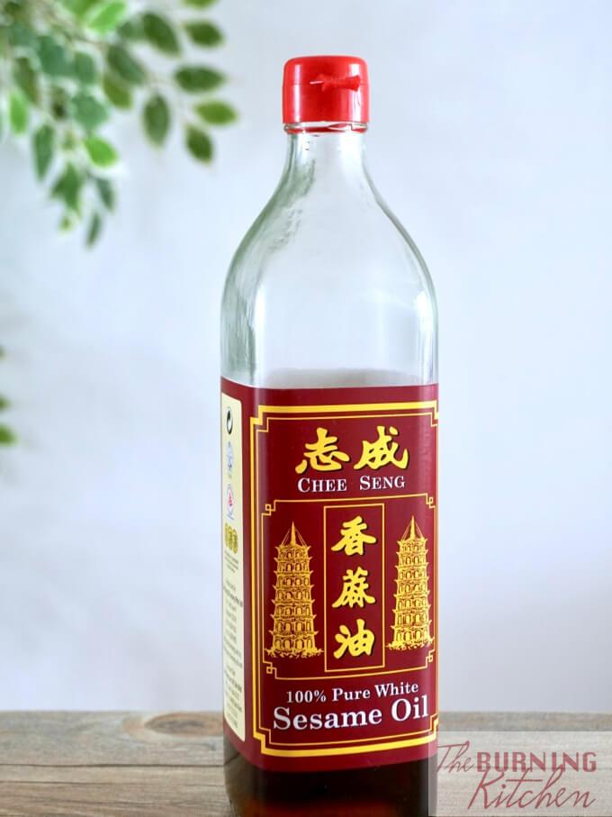 Chee Seng, 100% Pure White Sesame Oil
