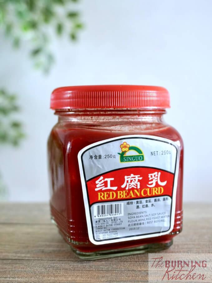 Sin Guo, Fermented Red Beancurd
