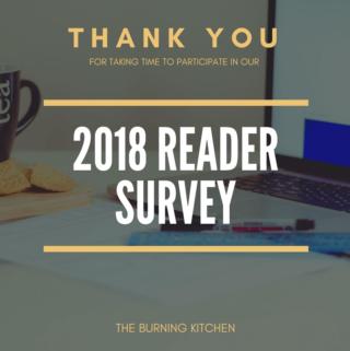 Reader Survey 2018 Results (Part 1)